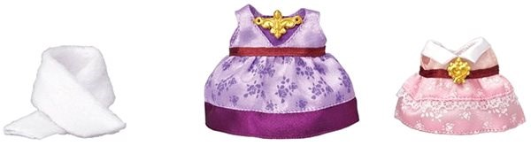 Sylvanian Families Town - Dress up Set (Purple & Pink) - Játék szett