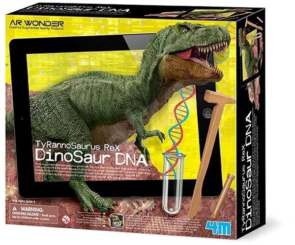 Dinoszaurusz DNS - T-Rex - Kísérletező készlet  c787ae3922