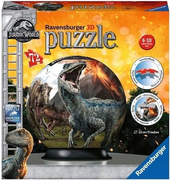 Ravensburger 117574 Ball - Jurassic World - 3D puzzle