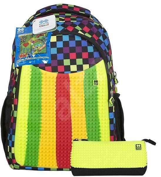 86fd68d5d2 Pixie Hátizsák színes panellel és tolltartóval - Iskolai felszerelés ...