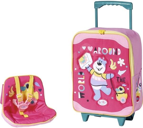 BABY born bőrönd és babaülés - Kiegészítők babákhoz