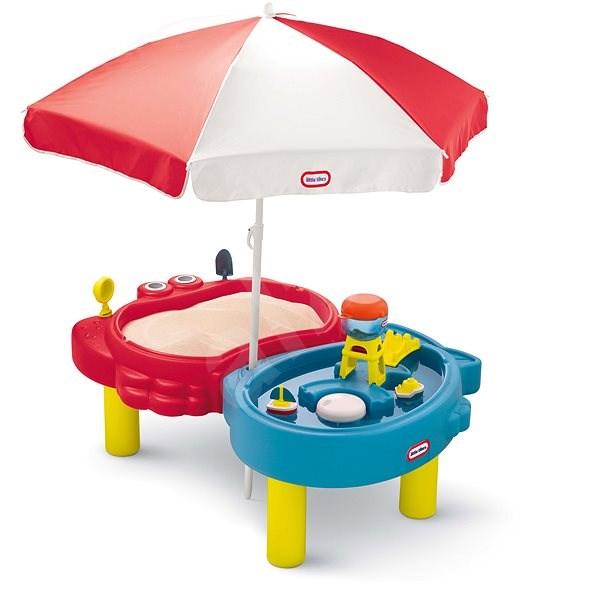 Little Tikes Sand & Sea Vízi játékasztal és homokozó - Homokozó