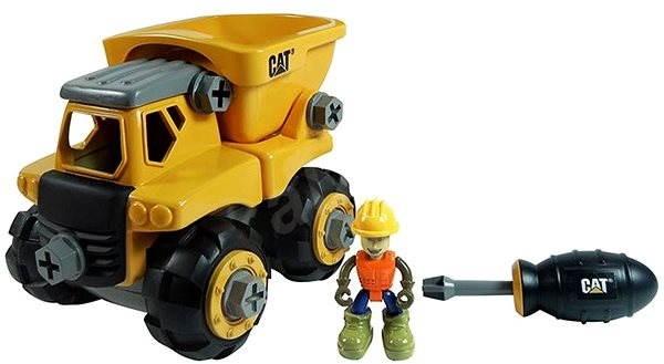 Nikko CAT Stavebnice - Nákladní auto 18cm - Építőjáték