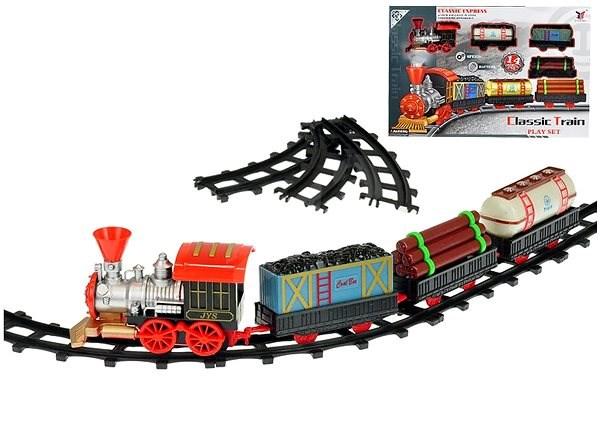 Vonat vasúti kocsikkal 47 cm - Kisvasút  80863611a3