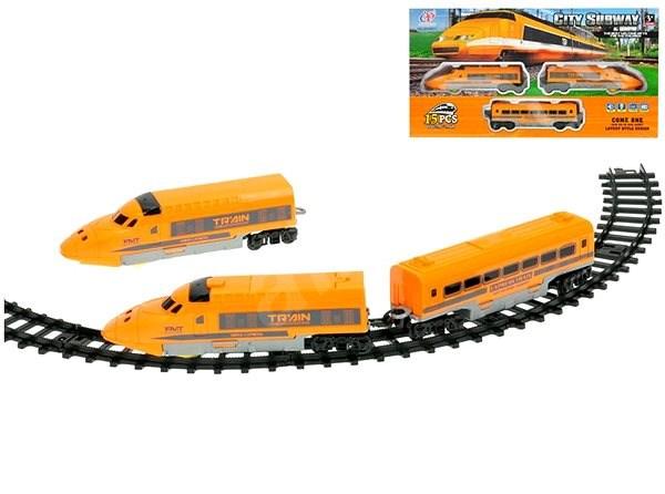 Vonat vasúti kocsikkal 61 cm - Kisvasút  9a4e3dd3e9
