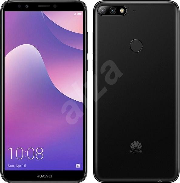 54330704c994ea HUAWEI Y7 Prime (2018) fekete - Mobiltelefon   Alza.hu