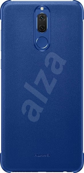 Eredeti Huawei PU védőtok Mate 10 Lite-hoz, kék - Mobiltartó