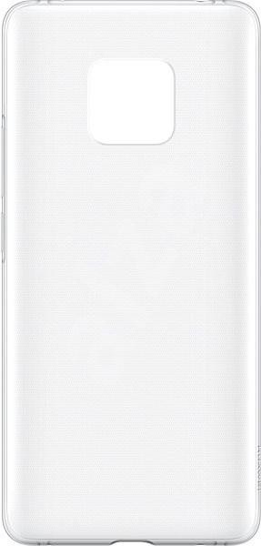Huawei Original Protective Transparent tok Mate 20 Pro készülékhez - Mobiltartó