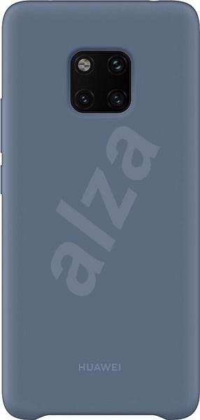 Huawei Original Silicone Light Blue tok Mate 20 Pro készülékhez - Mobiltelefon hátlap