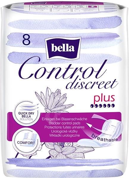 BELLA Control Discreet Plus 8 db - Inkontinencia betét