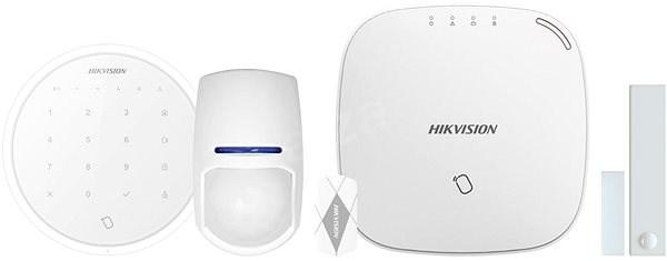 HIKVISION KIT AXIOM HUB DS-PWA32-NST + DS-PKA-WLM vezeték nélküli billentyűzet (fehér) - Riasztó