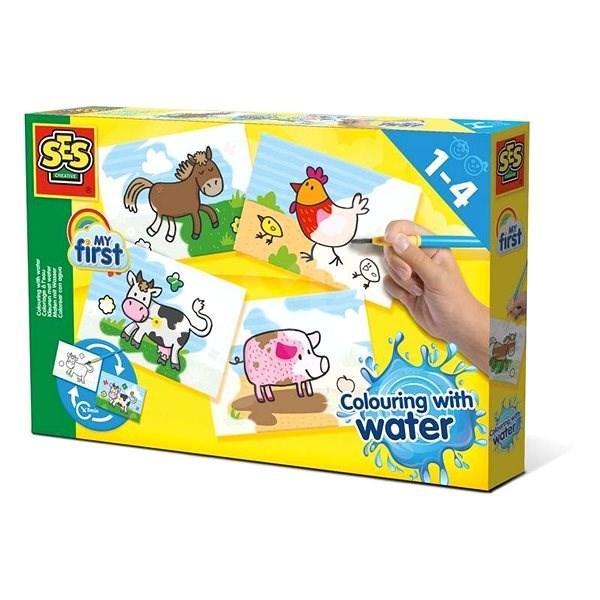 PES Első ecsetem és vízfestékem - háziállatok - Vízfestékek