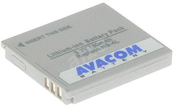 AVACOM Canon NB-4L Li-ion 3.7V 750 mAh-hez - Fényképezőgép akkumulátor