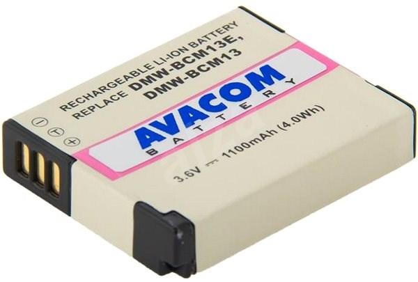 Avacom akkumulátor Panasonic DMW-BCM13, BCM13E készülékekhez, Li-Ion 3.6V 1100mAh 4Wh - Fényképezőgép akkumulátor