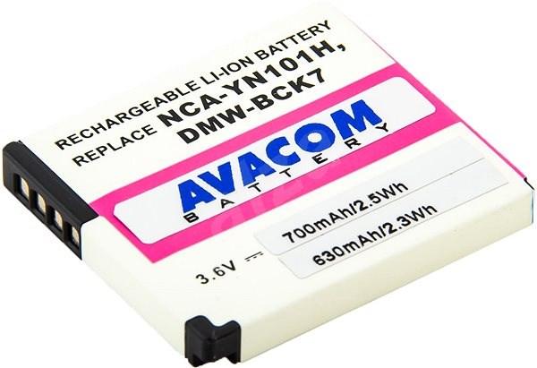 AVACOM Panasonic DMW-BCK7 helyett Li-Ion 3.6V 700mAh 2.6Wh - Fényképezőgép akkumulátor