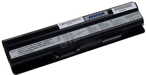 AVACOM MSI MegaBook CR650 / CX650 / GE620 Li-ionhoz 11.1V 5200mAh / 58Wh - Laptop-akkumulátor