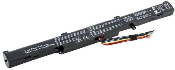 AVACOM akkumulátor Asus X550E, X751 készülékekhez Li-Ion 14,4V 2200mAh - Laptop-akkumulátor