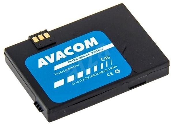 AVACOM akkumulátor Siemens C45, A50, MT50 készülékekhez, Li-Ion 3,6V 850mAh - Mobiltelefon akkumulátor