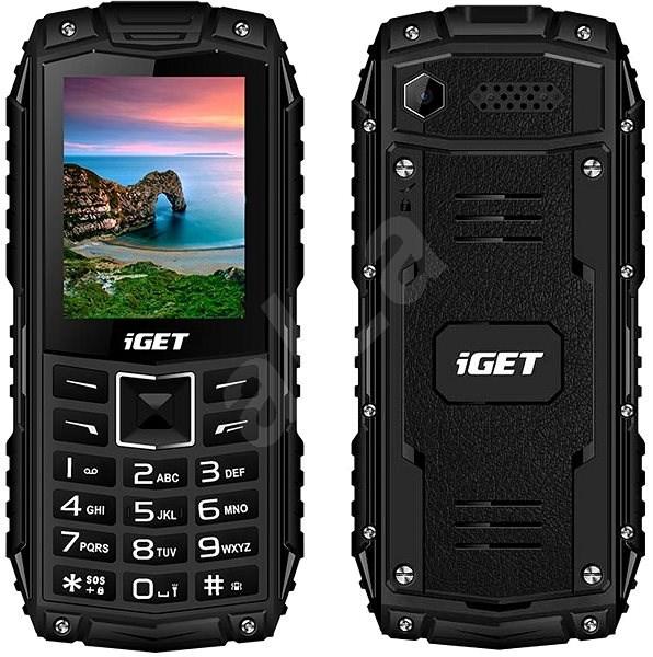 iGET Defender D10 fekete - Mobiltelefon