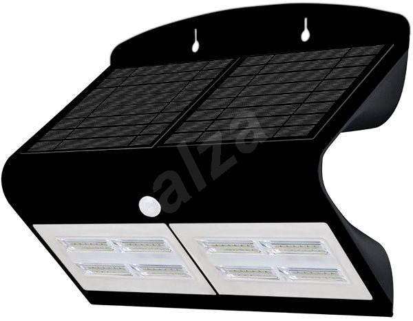IMMAX LED reflektor érzékelővel, 6.8W, fekete - LED reflektor