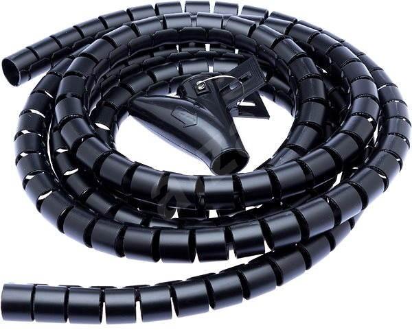 CONNECT IT CableFit WINDER fekete 2,5 m - Kábelrendező