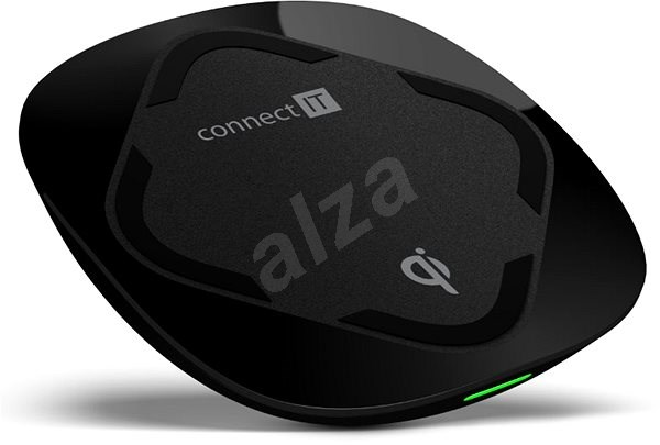 CONNECT IT Qi Certified Wireless Fast Charge fekete - Vezeték nélküli töltő