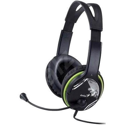Genius HS-400A Fekete - Fej-/fülhallgató