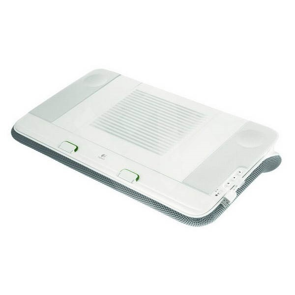 Logitech Speaker Lapdesk N700 - Laptop Stand