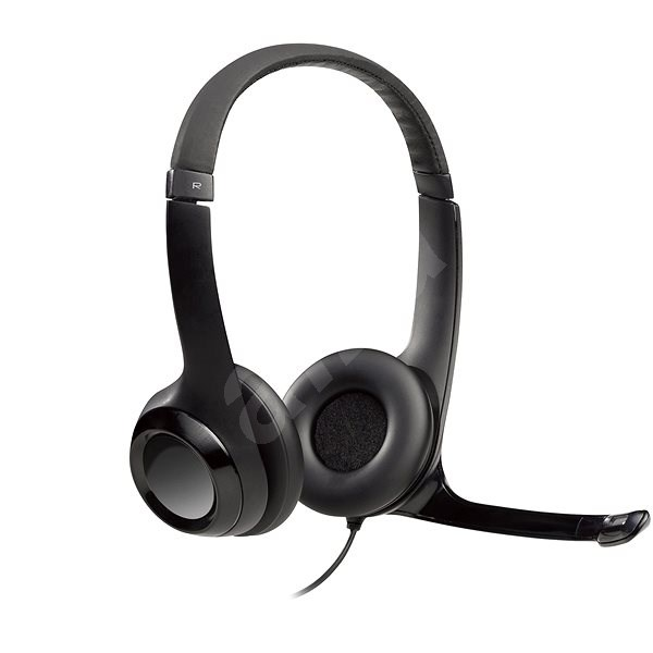 Logitech USB Headset H390 - Mikrofonos fej- fülhallgató  c436f3956e
