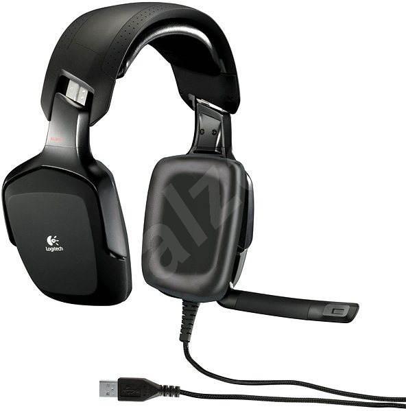 Logitech G35 térhangzású mikrofonos fejhallgató - Mikrofonos fej-  fülhallgató d77d51ba99