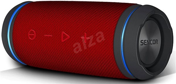 Sencor SSS 6100N Sirius mini, piros - Bluetooth hangszóró