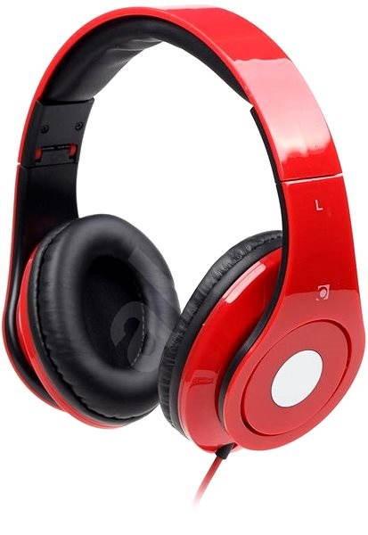 Gembird Detroit piros - Mikrofonos fej- fülhallgató  037d799aff