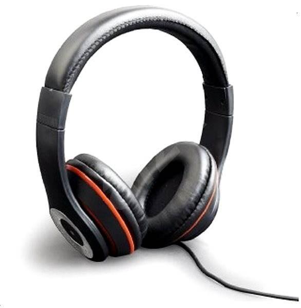 Gembird Los Angeles fekete - Mikrofonos fej- fülhallgató  476004c9a8