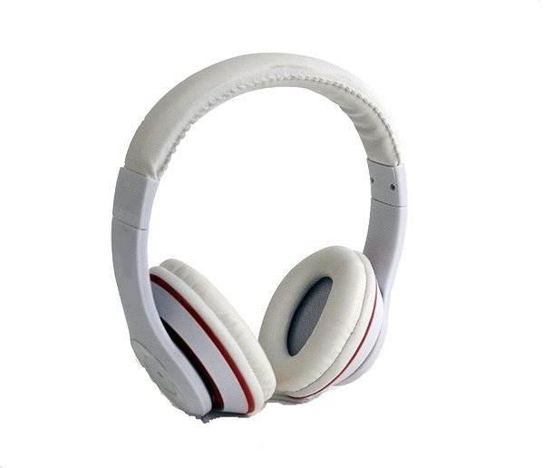 Gembird Los Angeles Fehér - Mikrofonos fej- fülhallgató  900df56a24