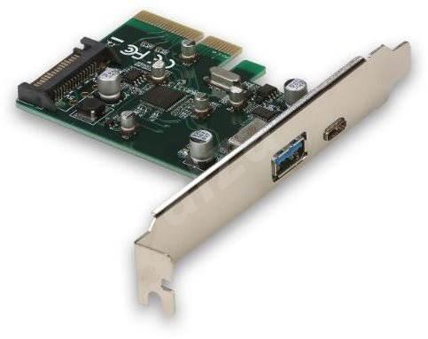 I-TEC PCIe Card USB-C 3.1 gen 2 10Gps Card - Bővítőkártya