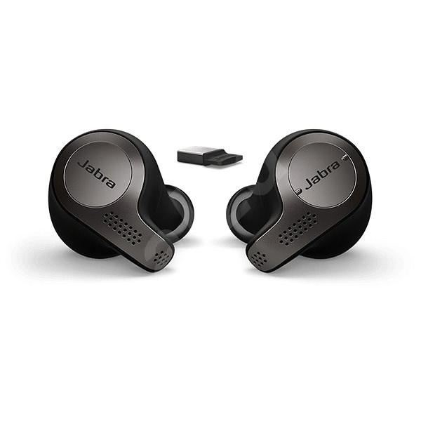Jabra Evolve 65t - fekete - Vezeték nélküli fül-/fejhallgató