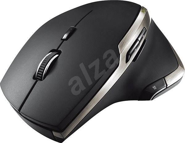 Trust Evo Advanced Wireless Laser Mouse, Fekete - Egér