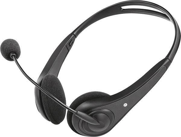 Trust InSonic Chat Headset - black - Mikrofonos fej- fülhallgató ... 5f3d5b0382
