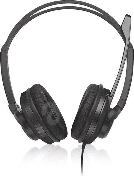 Trust Zaia Headset - Fekete - Mikrofonos fej- fülhallgató  2de0c2d923