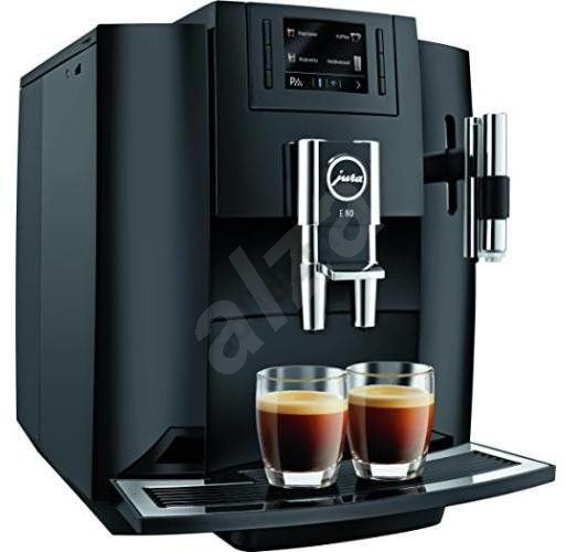 Jura S8 Automata kávéfőző 1450W 15bar Fekete Ezüst