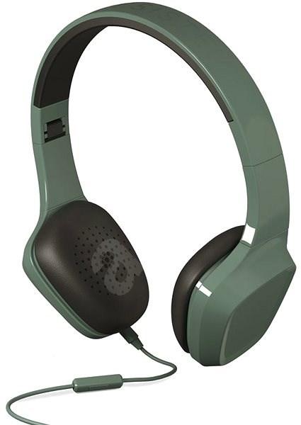 Energiatakarékos fejhallgató 1 Zöld mikrofon - Mikrofonos fej- fülhallgató cebfa1e930