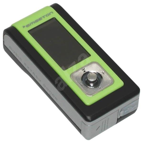 Emgeton X3 CULT black, 512MB, MP3/ WMA/ WAV přehrávač, FM Tuner, dig. zázn, CZ menu, USB2.0, 1x AAA - MP3 Player