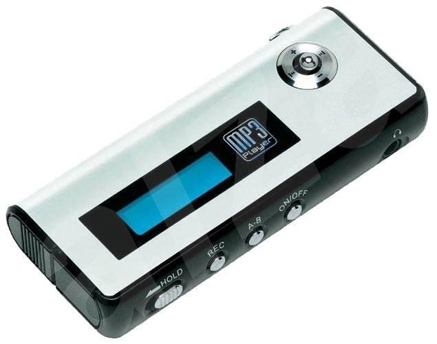 VMAX V-371, 128 MB, MP3/ WMA přehrávač, FM Tuner, dig. záznamník, USB2.0 disk, sluchátka - MP3 Player
