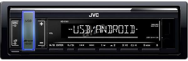 JVC KD-X161 - Autórádió