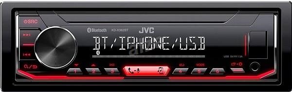 JVC KD-X362BT - Autórádió
