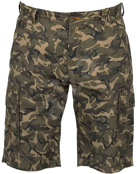 FOX Chunk Lightweight Cargo Shorts Camo Size XXXL - Rövidnadrágok