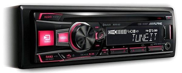 ALPINE CDE-183BT  - Car Stereo Receiver