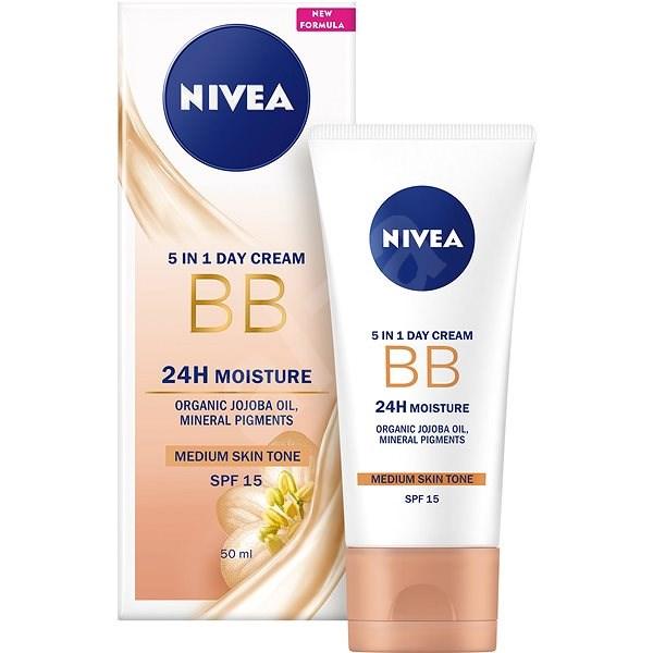 NIVEA Essentials BB Cream 5 az 1-ben Dark 50 ml - BB krém