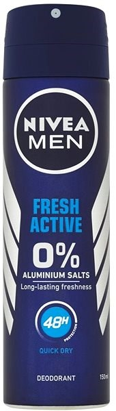 NIVEA MEN Active Fresh 150 ml - Férfi dezodor
