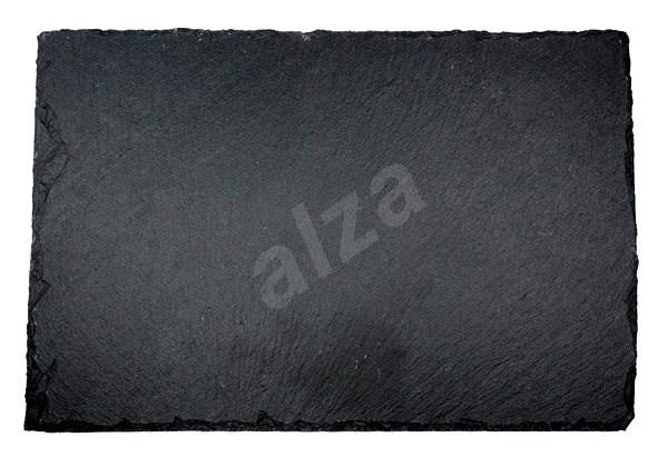 Kesper Téglalap alakú pala tálalólap 30x20 cm - Tálca